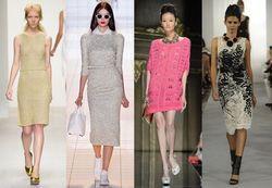Які в'язані сукні вибрати в 2014 році?
