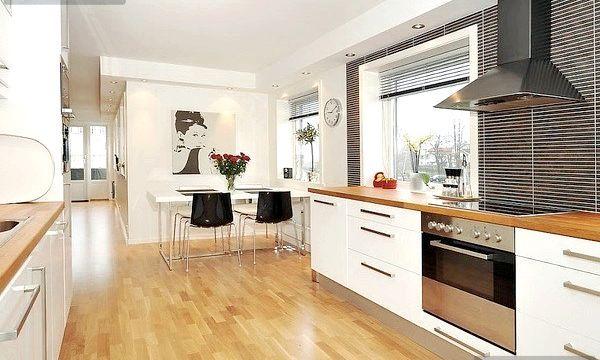 Який підлогу на кухні краще?