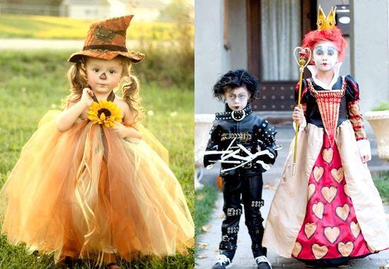 Карнавальні костюми для дітей на Хеллоуїн своїми руками - фото, відео