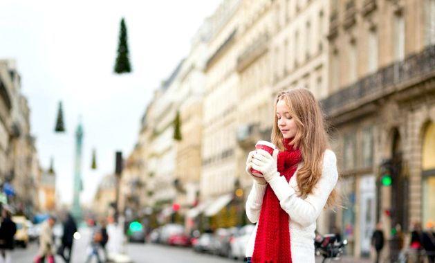 Зима в Парижі