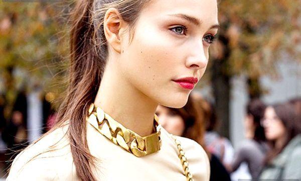 Кольє-чокер: фото стильних моделей