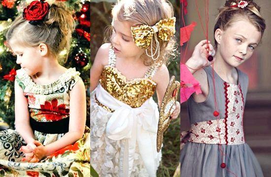 Красиві новорічні сукні для дівчаток 2014, фото