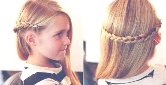 Красиві новорічні зачіски для дівчаток 2014, фото