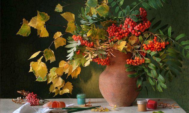 Червона горобина - рецепти зимових заготовок