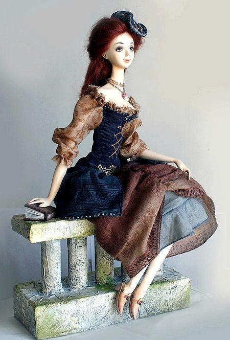 Лялька з полімерної глини: майстер-клас