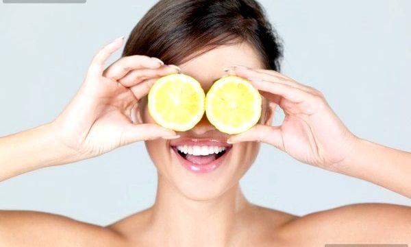 Лимон для обличчя (рецепти)