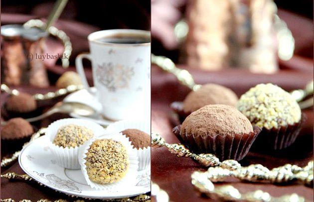 Любіть шоколадні трюфелі? Вчимося готувати!
