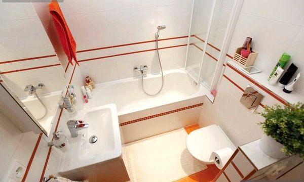 Маленька ванна: інтер'єр-ідеї (фото)