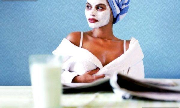 Маски з молока для обличчя та волосся