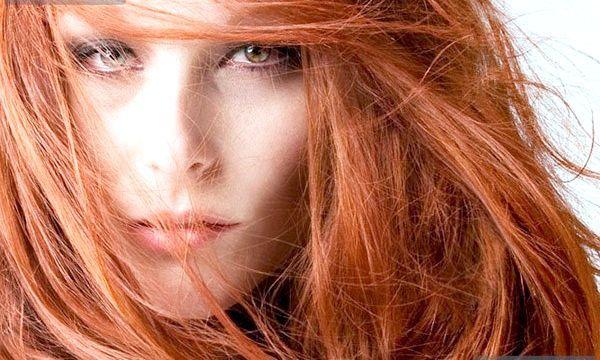Мідний колір волосся (фото)