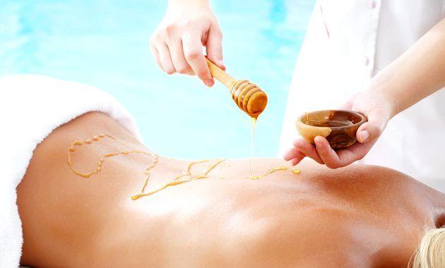 Медовий антицелюлітний масаж