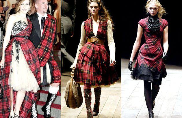 Мега популярна «шотландка»