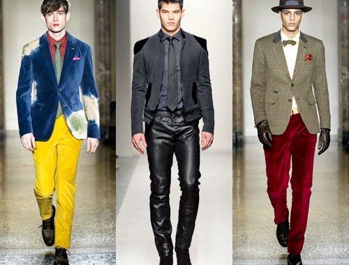 Модна чоловічий одяг зима 2014, фото