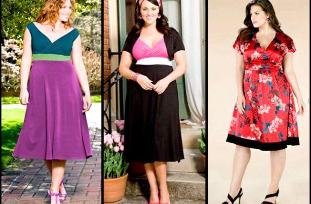 Модний одяг для повних жінок
