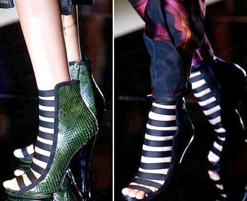 Модне жіноче взуття, весна-літо 2014, фото