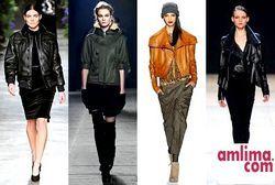 Модні цього року шкіряні куртки