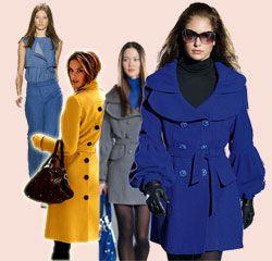 Модні і яскраві весняні пальто 2014
