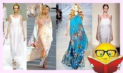 Модні тенденції 2014 - літні сарафани