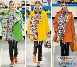 Модні тенденції осінніх пальто 2014