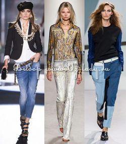 Модні жіночі брюки весна-літо 2014