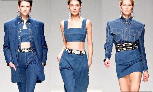 Модні джинсові речі від провідних дизайнерів (фото)
