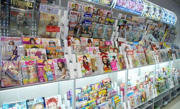 Модні глянцеві журнали і їх сучасна не актуальне