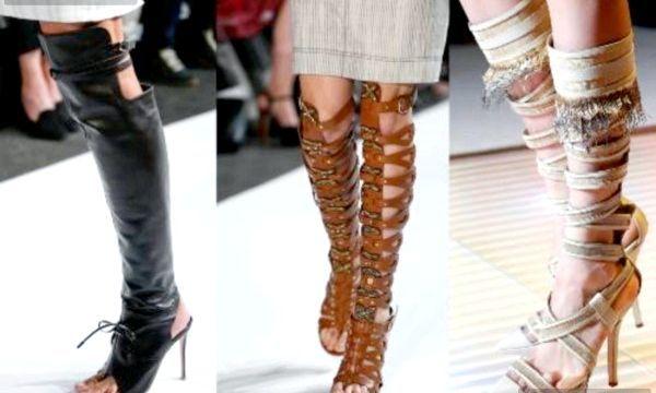 Модні літні чоботи (фото)