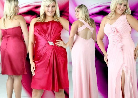 Модні новорічні сукні 2014 для повних дівчат, фото