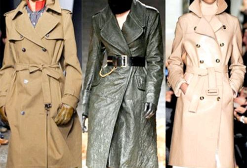 Модні плащі для жінок, весна 2014