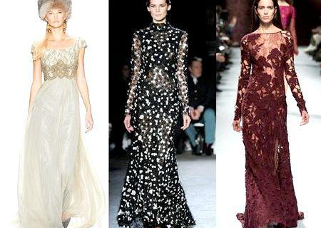 Модні сукні, осінь-зима 2014-2015 (фото): які плаття будуть наймоднішими у 2015 році