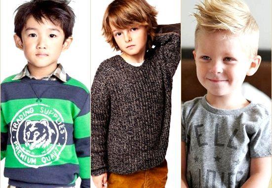 Модні зачіски для хлопчиків 2014