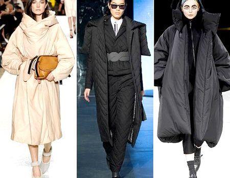Модні пуховики, осінь-зима 2014-2015 - модні тенденції, фото моделей