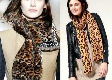 Модні шарфи, зима 2014-2015 - фото модних жіночих шарфів і хусток, осінь-зима 2014-2015