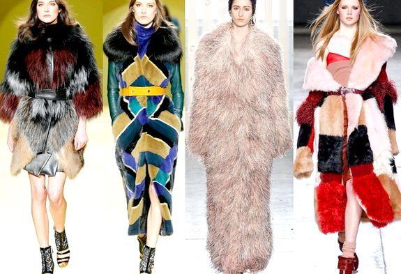 Модні шуби, осінь-зима 2014-2015: фото модних моделей і фасонів жіночих шуб, осінь-зима 2014-2015 року