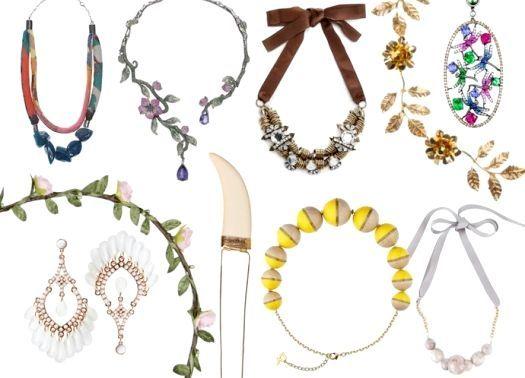 Модні тенденції - літо 2014: окуляри і біжутерія, фото
