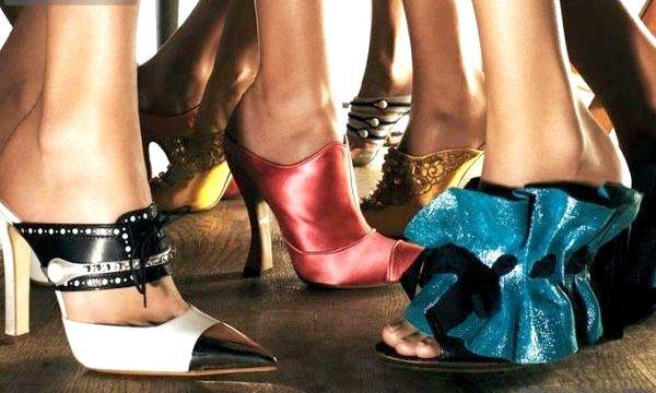 Модні туфлі Мюлі: стильні моделі (фото)