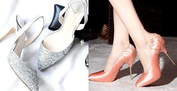 Модні туфлі на новий рік 2014: фото красивою новорічної взуття