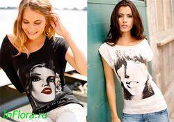 Модні жіночі майки та футболки на літо