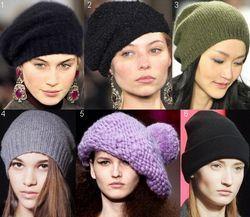 Модні жіночі капелюхи 2014