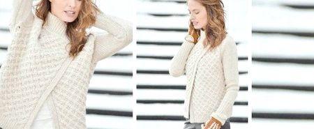 Модні жіночі светри, осінь-зима 2014-2015: фото наймодніших в'язаних светрів 2015