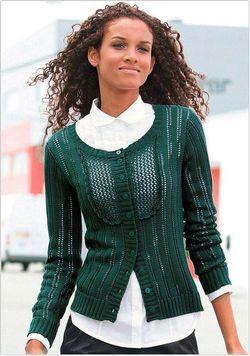 Наймодніші жіночі в'язані светри