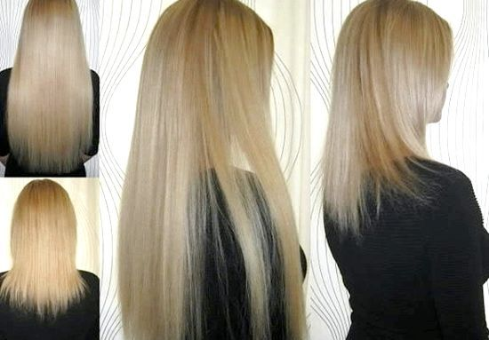 Нарощування волосся капсулами