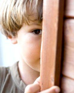 дитяча сором'язливість