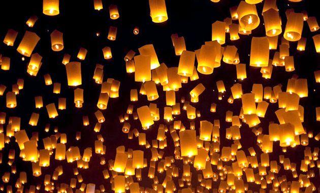 Небесні ліхтарики на весілля - романтичні моменти весільного торжества!