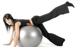 Необхідні вправи на кулі для схуднення