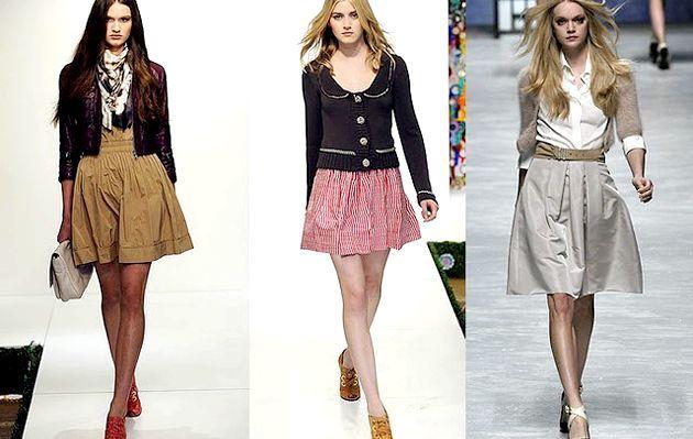 Образ курсистки - модний тренд осені
