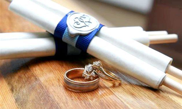 Оформлення весільних запитаних - орігінальність всегда в моді