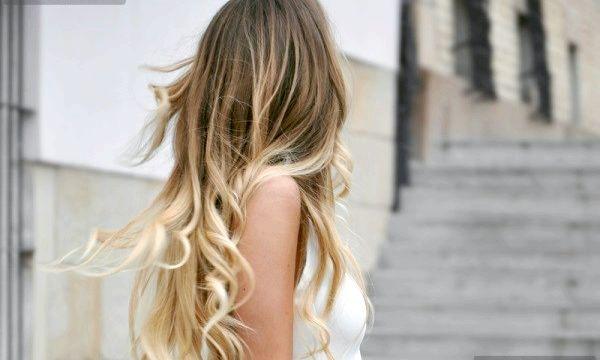 Омбр на русяве волосся (фото)