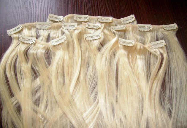 Оригінальні накладні волосся на шпильках