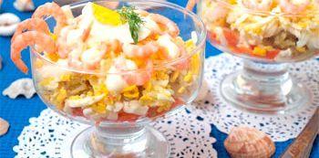 Оригінальні салати на новий рік 2015: рецепти листкових святкових варіантів а також їх прикраси
